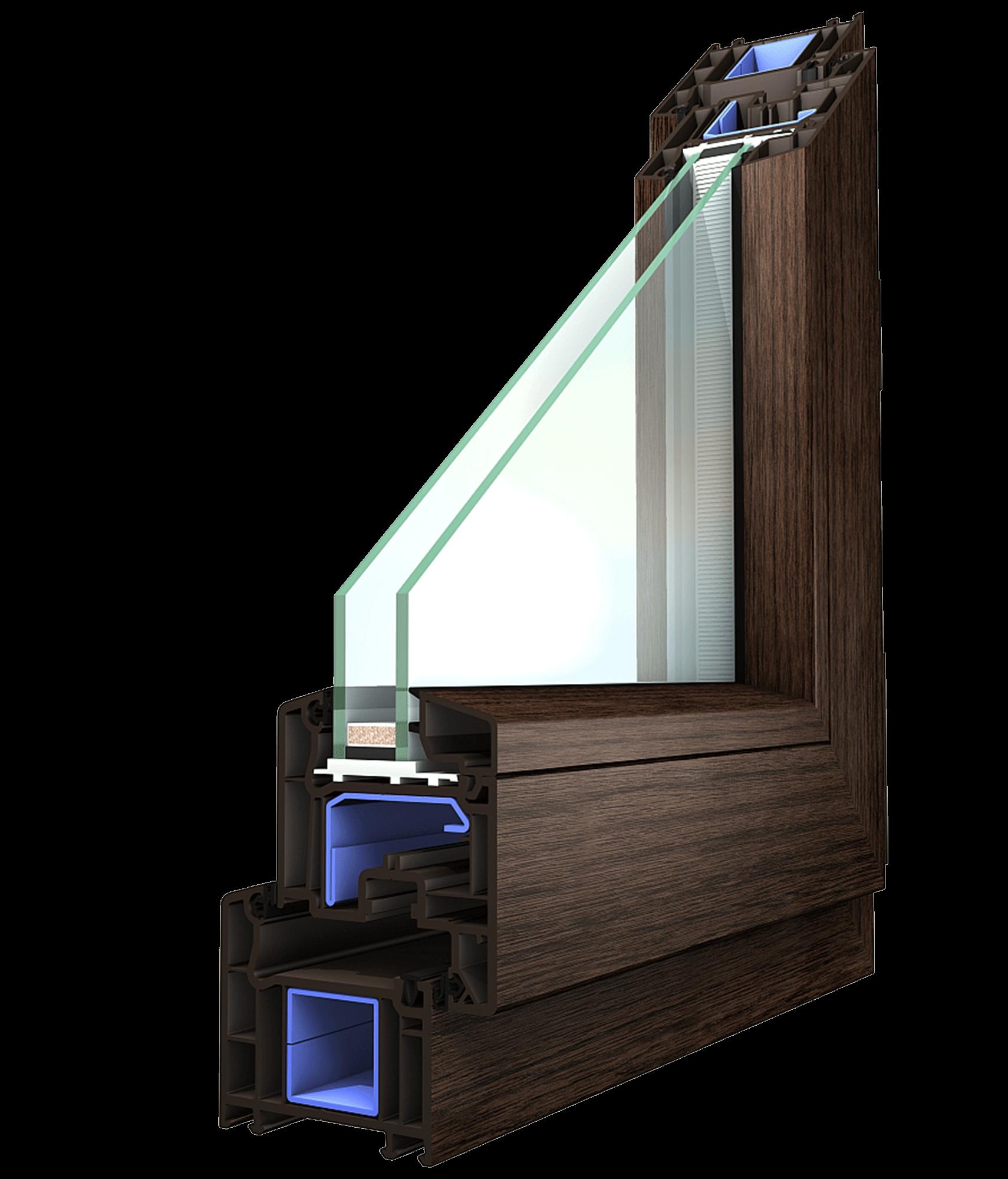 Profil okno Koncept
