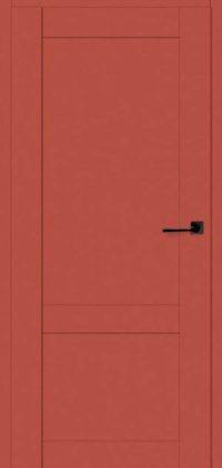 drzwi czerwone